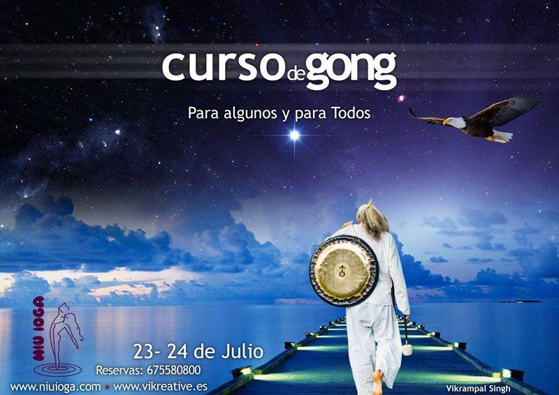 el arte del gong con Vikrampal