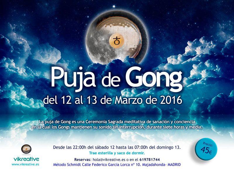 Puja de gong Don Conreaux