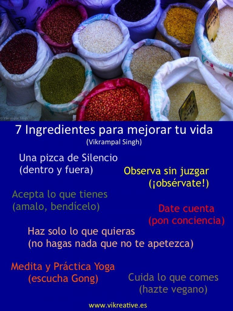 7 ingredientes
