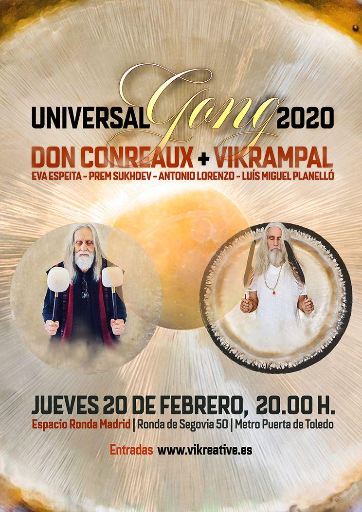 Don Conreaux Vikrampal Gong